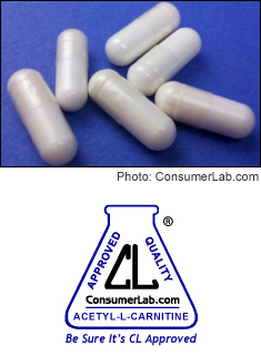 Acetyl-L-Carnitine Supplements Tested by ConsumerLab.com