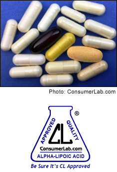 Alpha-Lipoic Acid Supplements Reviewed by ConsumerLab.com