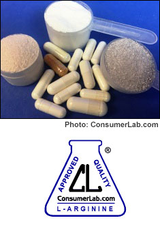 L-Arginine Supplements Reviewed by ConsumerLab.com