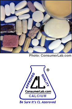 Calcium Supplements Reviewed by ConsumerLab.com