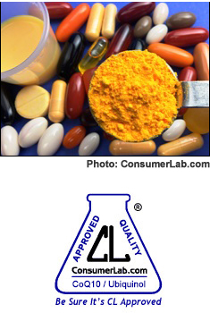 CoQ10 and Ubiquinol Supplements Reviewed by ConsumerLab.com
