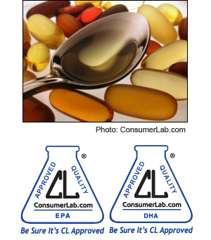 Fish Oil and Other Marine Oil Supplements Reviewed by ConsumerLab.com
