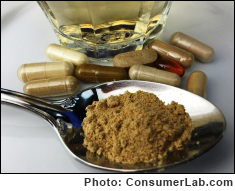 Ginger Supplements Reviewed by Consumerlab.com