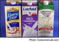 Lactose-Free Milks Reviewed by ConsumerLab.com