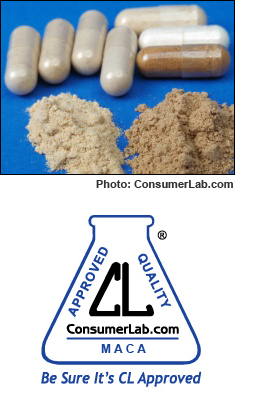 Maca Supplements Reviewed by ConsumerLab.com