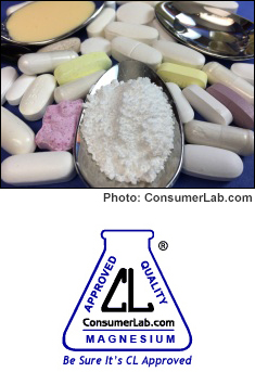 Magnesium Supplements Reviewed By ConsumerLab.com