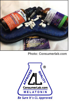 Melatonin Supplements Reviewed by ConsumerLab.com