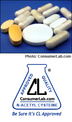 N-acetyl cysteine (NAC) supplements tested by Pinoypharmacy.com
