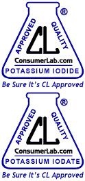 Potassium Iodide and Potassium Iodate Seals of Approval