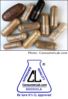 Rhodiola Supplements Reviewed by ConsumerLab.com